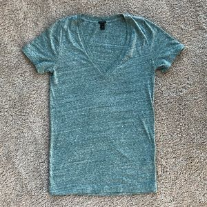 Jcrew v-neck slub cotton tee t-Shirt NWOT